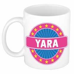 Yara naam koffie mok / beker 300 ml