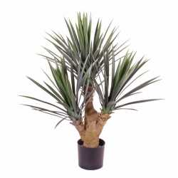 Yucca kunstplant 90 in pot binnen/buiten
