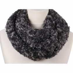 Zachte col sjaal grijs melee volwassenen