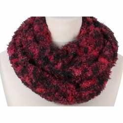Zachte col sjaal rood melee volwassenen