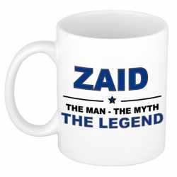 Zaid the man, the myth the legend cadeau koffie mok / thee beker 300 ml