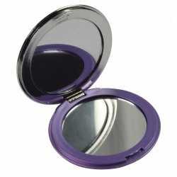 Zak spiegeltje paars