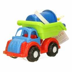 Zand speelwagen van plastic 28 bij 14 bij 20