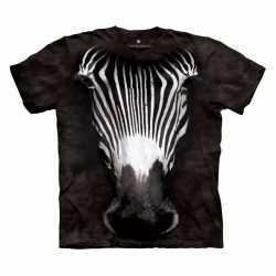 Zebra t shirt volwassenen