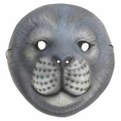 Zeehond kindermasker foam