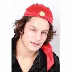 Zigeuner hoedje rood volwassenen