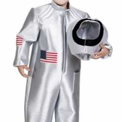 Zilveren astronauten kostuum kinderen