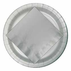 Zilveren bordjes 23
