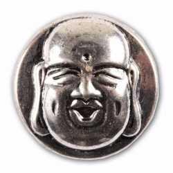 Zilveren chunk boeddha 1,8
