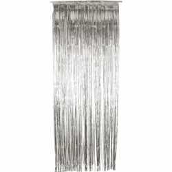 Zilveren deurgordijn