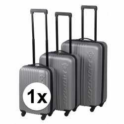 Zilveren dunlop reiskoffer 56
