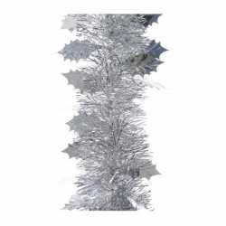 Zilveren folie slinger blad 270