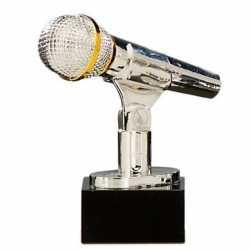 Zilveren karaoke prijs 17
