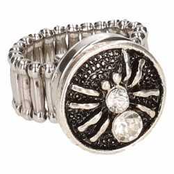 Zilveren ring zilveren spin chunk
