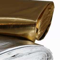 Zilveren stof per meter