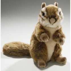 Zittende pluche knuffel eekhoorn 17