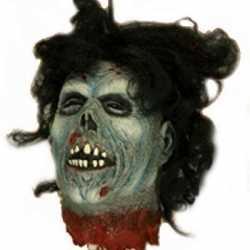Zombie hoofd halloween versiering 30