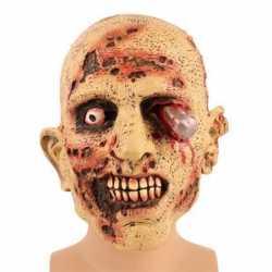 Zombie masker bloedend oog