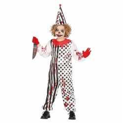 Zombie moordenaar enge clownspak kinderen