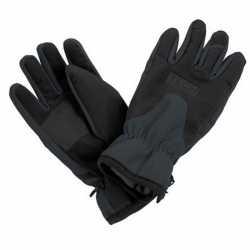 Zwart/grijze wintersport handschoenen volwassenen