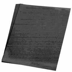 Zwart karton vel 50 bij 70