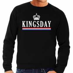 Zwart kingsday sweater heren