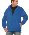 Fleece outdoor jack heren