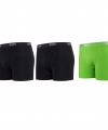 Lemon and soda boxershorts 3 pak zwart groen xl