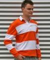 Rugbyshirt orange