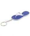 Sleutelhanger blauwe teenslipper 8