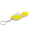 Sleutelhanger gele teenslipper 8