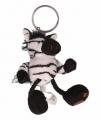 Sleutelhanger pluche zebra 10