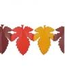 Slinger herfstbladeren