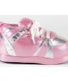 Sneaker sloffen meisjes roze zilver