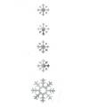 Sneeuwvlok hangdecoratie 140