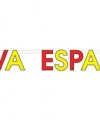 Spaanse letterslinger viva espa a
