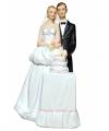 Spaarpot bruidspaar bruidstaart