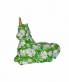 Spaarpot eenhoorn 17 groen
