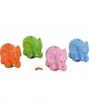 Spaarpot gekleurde olifant 20