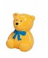 Spaarpot gele teddybeer 20