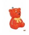 Spaarpot oranje teddybeer 20