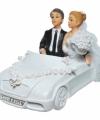 Spaarpot trouwauto bruidspaar