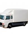 Spaarpot witte vrachtwagen