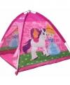 Speelgoed tentje pony prinses roze