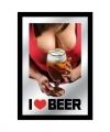 Spiegel i love beer tieten