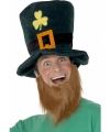 St patricks day hoed baard