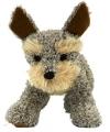 Staande welsh terrier knuffel hond 30