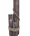 Steigerpalen van hout 63