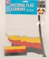 Stickerset van de duitse vlag
