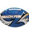 Strand rugbybal blauw 27